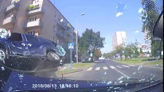 Wypadek 14.08.2018 Częstochowa