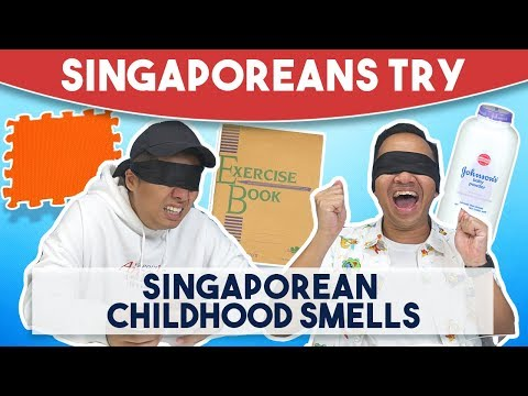 Singaporeans Try: Singaporean Childhood Smells