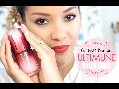 ♡♡ J'AI TESTE POUR VOUS: le Pré-serum ULTIMUNE de Shiseido