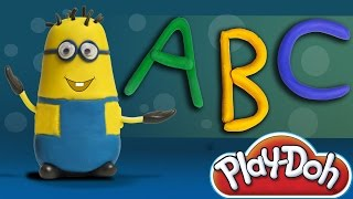 Minion | Play Doh ABC Song | Stop Motion Videos