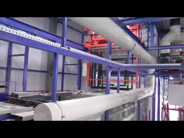 RAAL-The KTL Plant and The Powder Coating Line