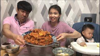 |TẬP 491| GHẸ TRỘN GIÁ ĐẬU NÀNH CAY MẶN NÓNG- MUKBANG EATING SHOW!꽃게 찜먹기!