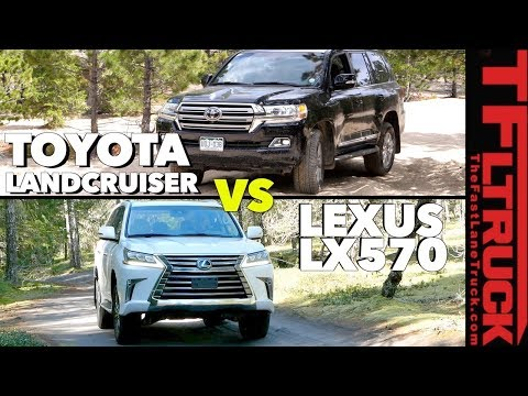 Is the Toyota Land Cruiser Better than the Lexus LX No, You re Wrong Ep. 2