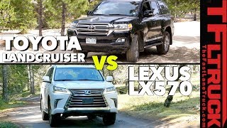 Is the Toyota Land Cruiser Better than the Lexus LX? No, You