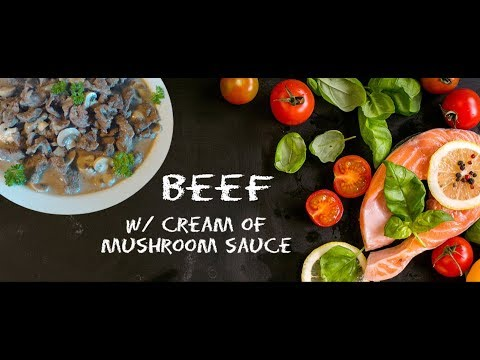 Beef In  Cream Of Mushroom | Delicious And Easy Beef Recipe