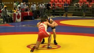 20140321113428 CDN NAT JR FS 55kg Sam Jagas Brock vs Bradley MacPherson