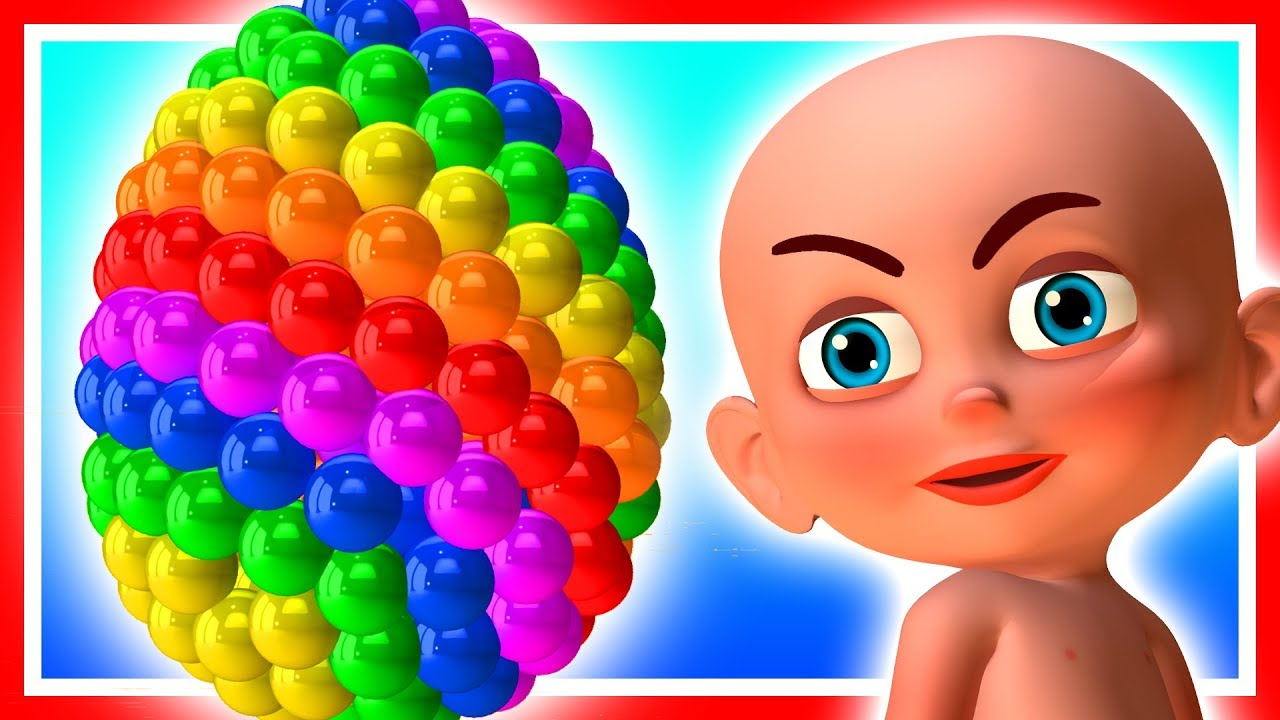 Learn Colors and Shapes with Naughty Baby
