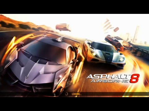 Asphalt 8 Airborne Android Gameplay Review-Iceland+Nevada Elimination Track-Car Driving To Play