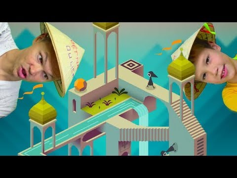 Monument Valley - очень мудреная и залипательная игра с иллюзиями