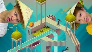 видео: Monument Valley - очень мудреная и залипательная игра с иллюзиями