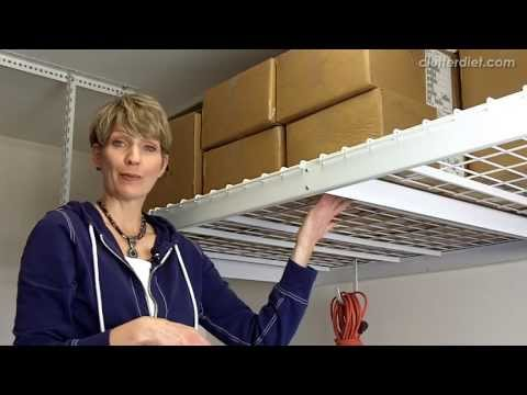 Best Quick Fix for Organizing Your Garage   Clutter Video Tip
