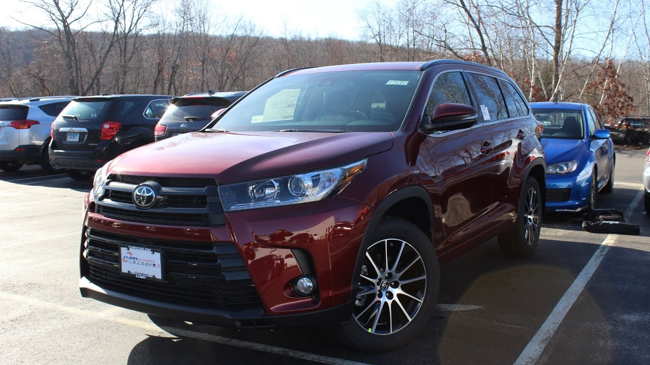 2017 toyota highlander se awd in depth first person look youtube. Black Bedroom Furniture Sets. Home Design Ideas