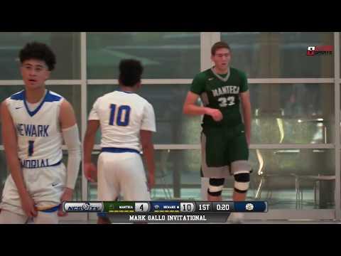 Newark Memorial vs Manteca High School Boys Basketball LIVE 12/11/18