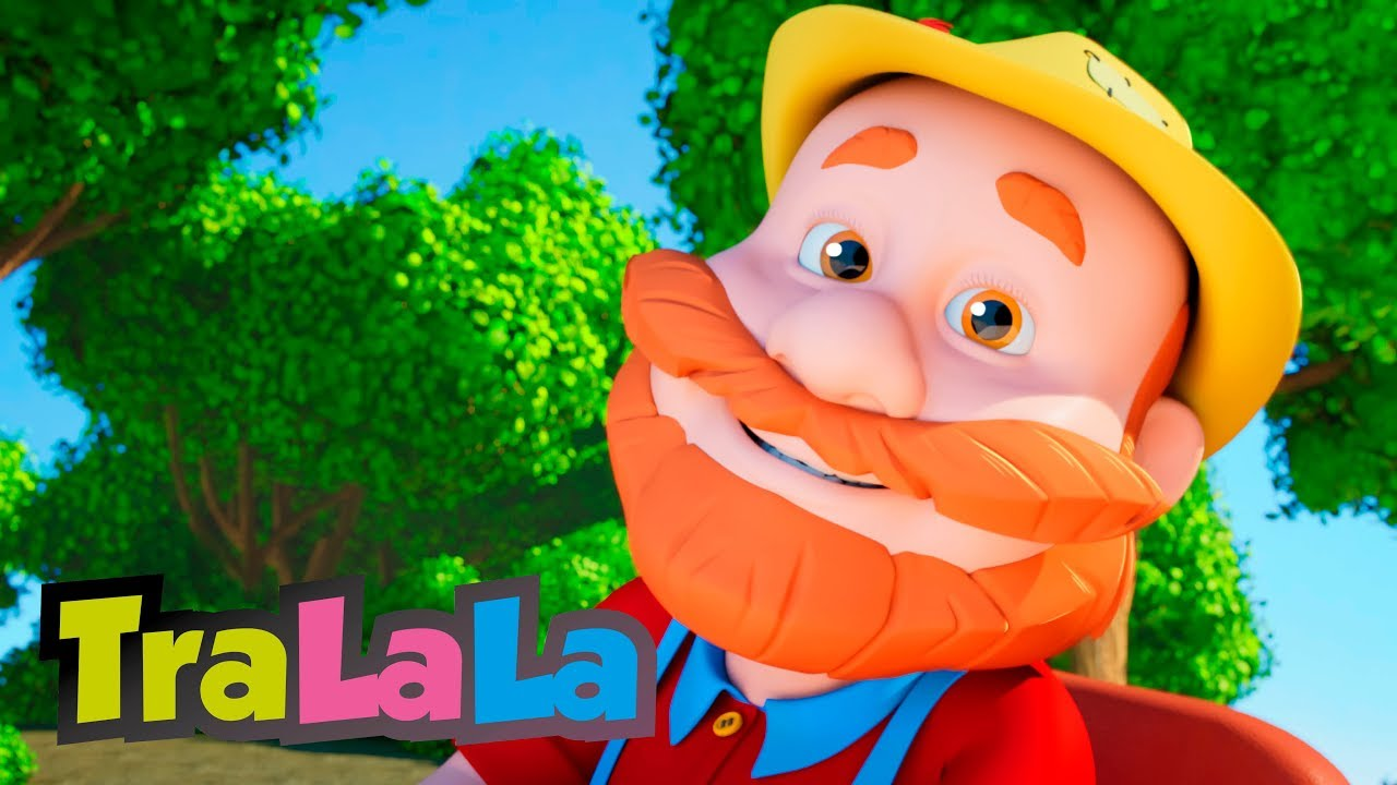 Țăranul e pe câmp - Cântece pentru copii | TraLaLa