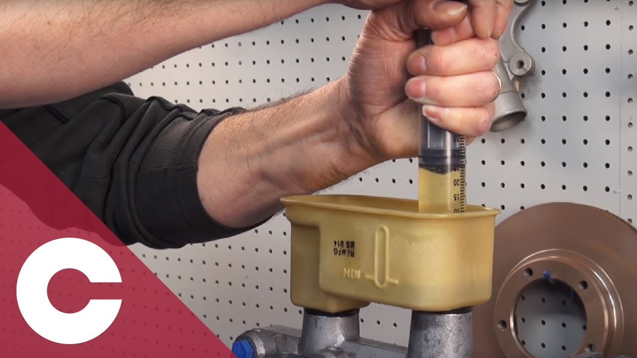 How To Bench Bleed a Step Bore Master Cylinder