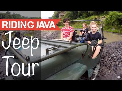 Jeep Lava Tour Mount Merapi Yogyakarta | Things to do in Indonesia