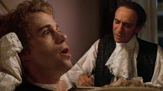 Mozart And Salieri Write 'requiem In D Minor'  Full Hd  - Amadeus  1984