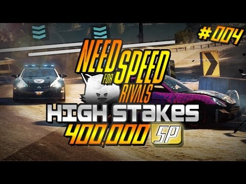 Need for Speed Rivals High Stakes #4 | Porsche Cayman S | 400,000 SP
