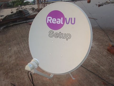How to Setup dish/ DTH RealVU Bangladesh [Complete Installation]