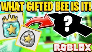 What GIFTED MYSTERY BEE Did My Girlfriend Get In Roblox Bee Swarm Simulator
