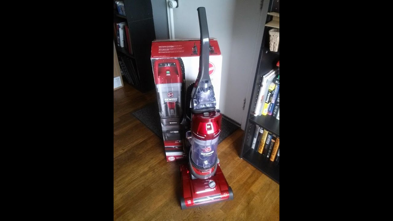 Hoover Elite Rewind Bagless Upright Vacuum UH71012 Review