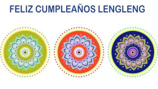 LengLeng   Indian Designs - Happy Birthday