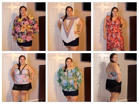 3902fd55e11 Plus Size Beach Vacation Clothing Haul + Try-on! ~Target