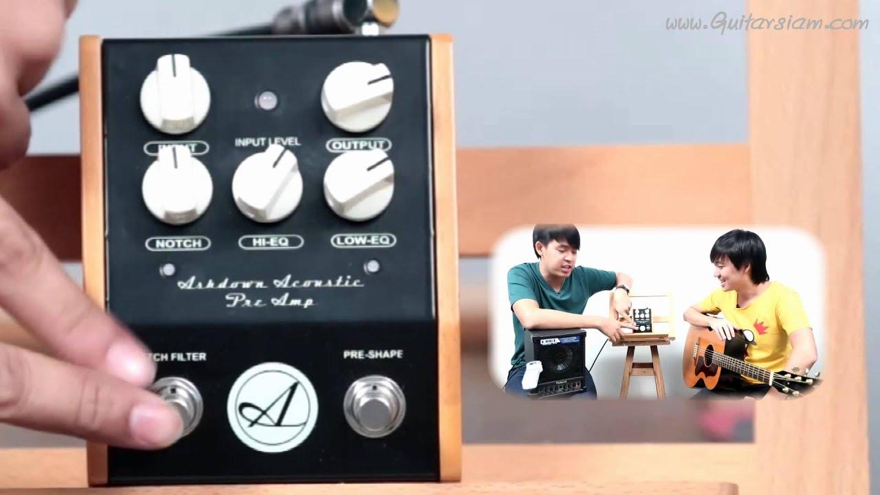 ashdown acoustic preamp pedal youtube. Black Bedroom Furniture Sets. Home Design Ideas
