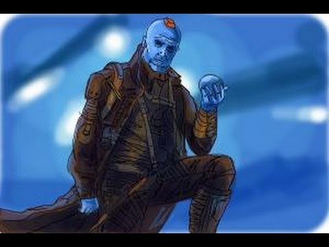 How To Draw Yondu From Guardian Of The Galaxy Youtube