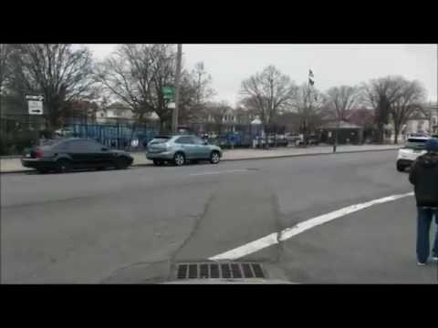 SHOCKING VIDEO: NYC DOT Employee Punches Jewish Man In Stomach In Marine Park While Endangering Pede