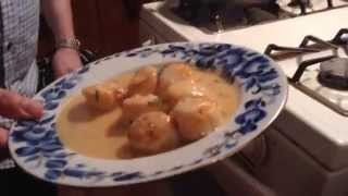 Coquille St. Jacques/ Deep Sea Scallop French Cuisine By Chef Uldis
