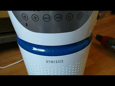Homedics 5 in 1 AirPurifier Review