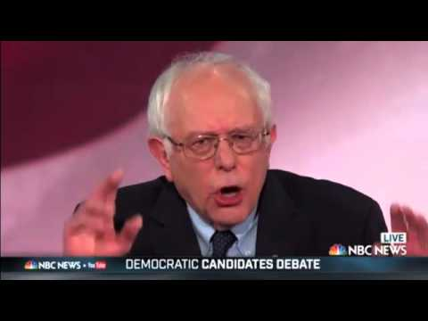 "Bernie Sanders ""Donald Trump believes that Climate Change is a hoax invented by the Chinese"""