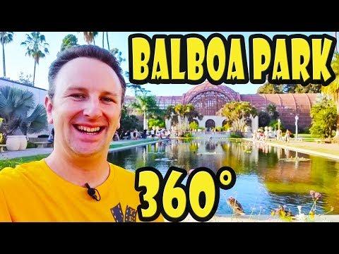 San Diego's Balboa Park 360 Video Walking Tour
