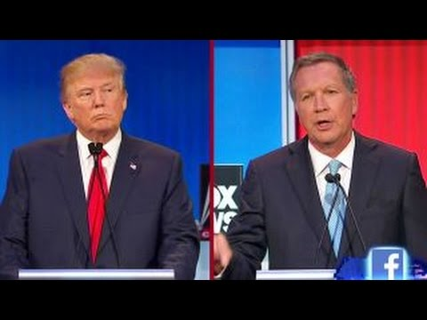 Kasich: Trump is 'hitting a nerve' on immigration | Fox News Republican Debate
