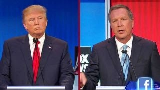 kasich trump is hitting a nerve on immigration   fox news republican debate