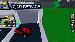 buying the max upgrade for my bugatti vision gt (vehicle tycoon ROBLOX)