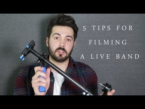 Five Tips for Filming a Live Band or Gig, with Nikon DSLR and what other gear to use