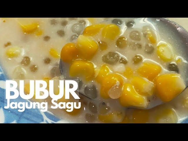 Resepi Bubur Jagung Youtube