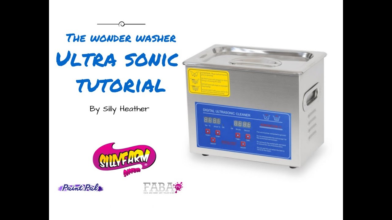The Wonder Washer- How to use an Ultrasonic Cleaner