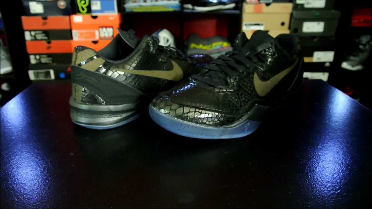 a38ee5eaa997 Nike Kobe 8 EXT  Black  Year of the Snake Pack - YouTube