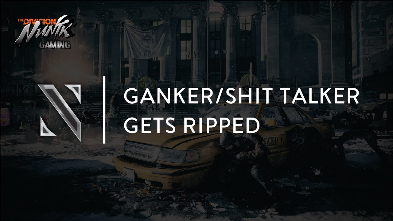 The Division PVP Trash talker gets REKT! | Alpha Bridge Meta