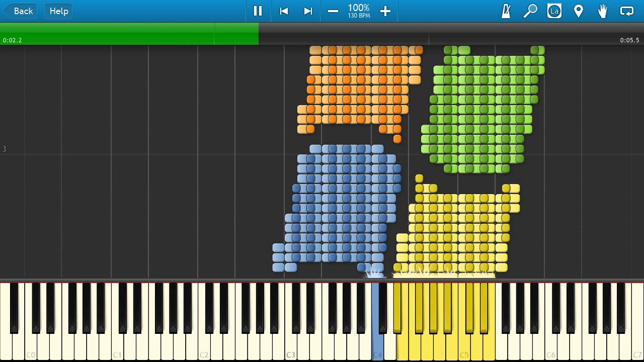 synthesia piano windows xp