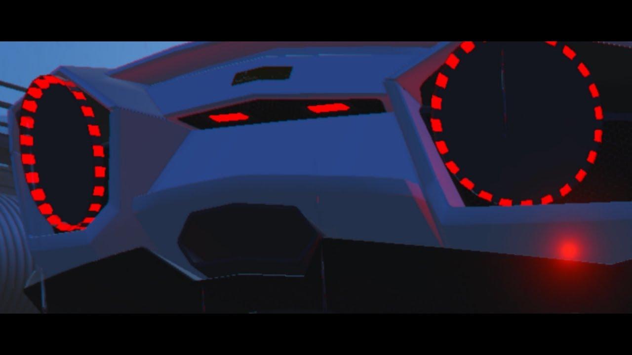 Gta 5 Marussia Concept Back Lights On Lamborghini Reventon Trance