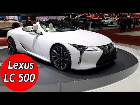 2020 Lexus LC 500 V8 Convertible Review Interior Exterior