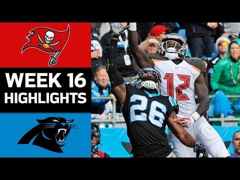 Buccaneers vs. Panthers | NFL Week 16 Game Highlights