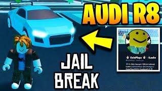 AUDI R8 IN ROBLOX JAILBREAK! Jailbreak CODES, LEVELING SYSTEM, & CONCEPTS! | Jailbreak Winter Update
