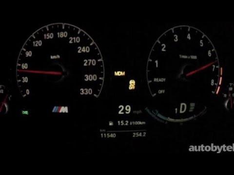 2015 BMW M3 0-60 MPH Test Video - 425 HP 3.0L Twin-Turbo