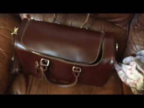 9556745ee5 Leathario Mens Leather Weekend Travel Duffel Bags - YouTube