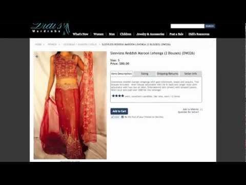 Didi's Wardrobe - Buy & Sell New & Gently Used Indian Clothing & Jewelry (www.didiswardrobe.com)